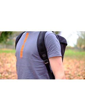 No chest strap means this pack may not stay as still as you want it to