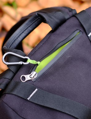The integrated carabiner is a signature Vulpine feature