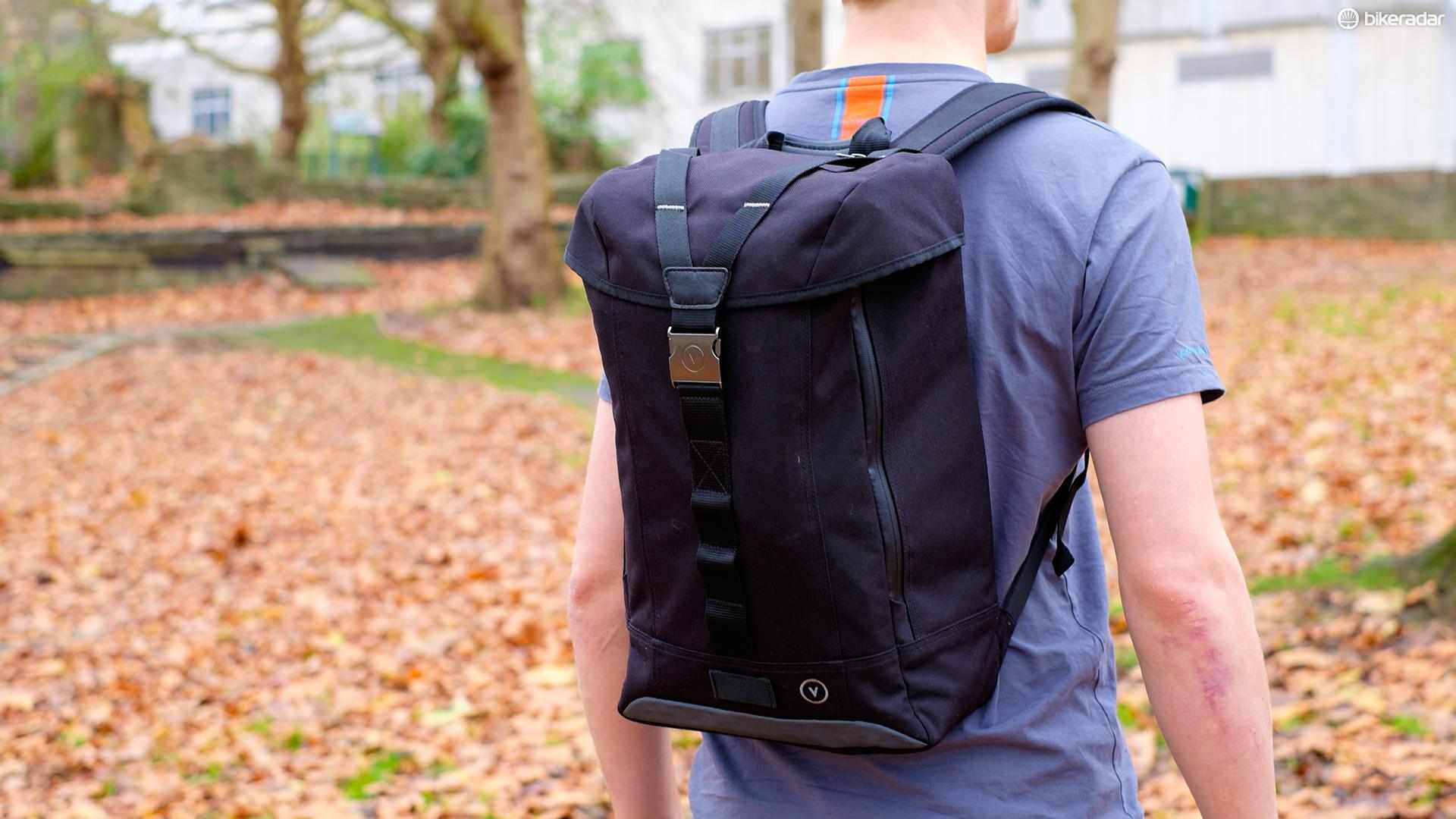 Vulpine's Commuter backpack is one we wouldn't recommend