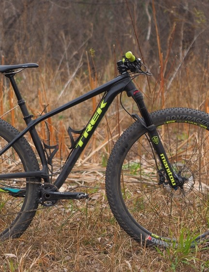 The Trek Stache 9 29+ is way more fun than any standard hardtail on account of its cartoonish wheels and tyres