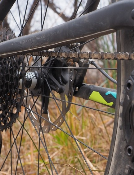 Chainslap is still an issue despite the elevated stay, although the clutched rear derailleur and included padding keeps it very much to a minimum