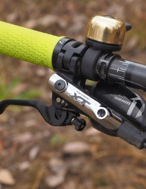 It's hard to complain about Shimano's Deore XT hydraulic disc brakes; they just flat-out work. Modulation could be a tad bit better but on the whole, these are about as trouble-free as they come