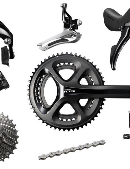 Shimano's 105 groupset is a hugely popular upgrade