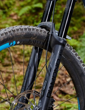 Once we had the Diamond dialled, it was sensitive enough to retain good traction on dry trails without compromising hard-hitting capabilities