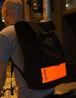 The Flux Backpack from Torch Apparel is claimed to be the world's largest bike light