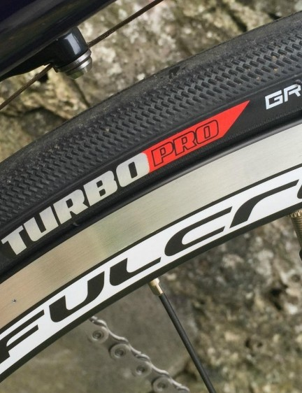 Specialized Turbo Pro tyres pair up with Fulcrum S-19 wheels