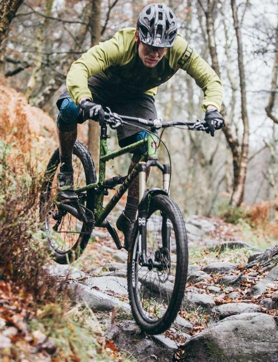 The Rocket's involving ride makes shredding rocky trails a blast – we'll be putting many more miles on it before a full review