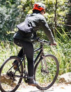 We appreciated the way the Levi's Commuter collection is designed to feel comfortable in a riding position
