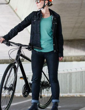 The Women's Commuter Trucker Jacket is also available in a black wool ($158 / £N/A / AU$N/A). We didn't get a chance to see this, but it looks well suited to cooler conditions