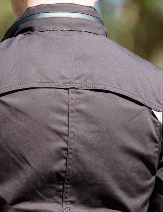 The men's Commuter Trucker Jacket offers stealth functionality