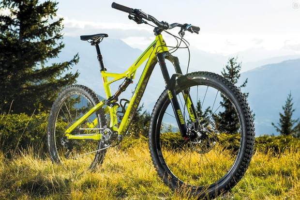 Specialized's Stumpjumper FSR Elite 650b is an eye-catching beast