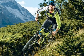 The Stumpjumper is in its element on tight and twisting trails