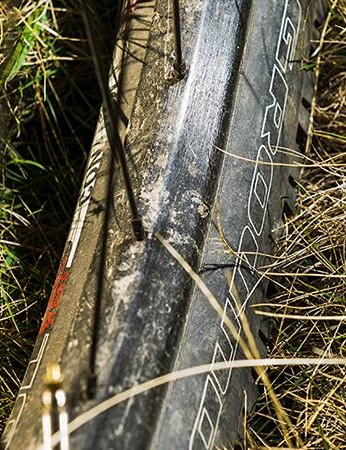 Wide tires, narrow rims