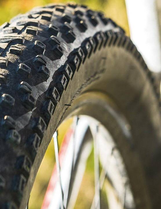 6Fattie tires offer loads of grip but can feel vague –at least until you get used to them