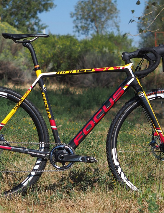 Noosa's team-issued Focus Mares CX isn't just a pretty face, however; it's one of the best all-around 'cross racing platforms currently on the market