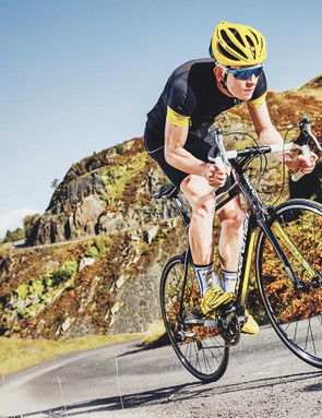 The Boardman's classic road-race angles make for a responsive and exciting ride