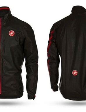 Castelli's Idro jacket is also made from Gore's new two-ply Active Gore-Tex fabric