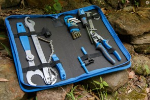 The Unior 20 piece tool kit in bag (1600A7) is a starter cycling tool set filled with quality items, expect a review on this kit soon
