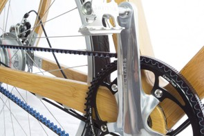 The unusual drivetrain should be virtually silent and maintenance free
