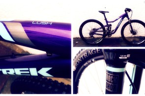 Introducing the 2016 Trek Lush, in a vibrant, fetching purple