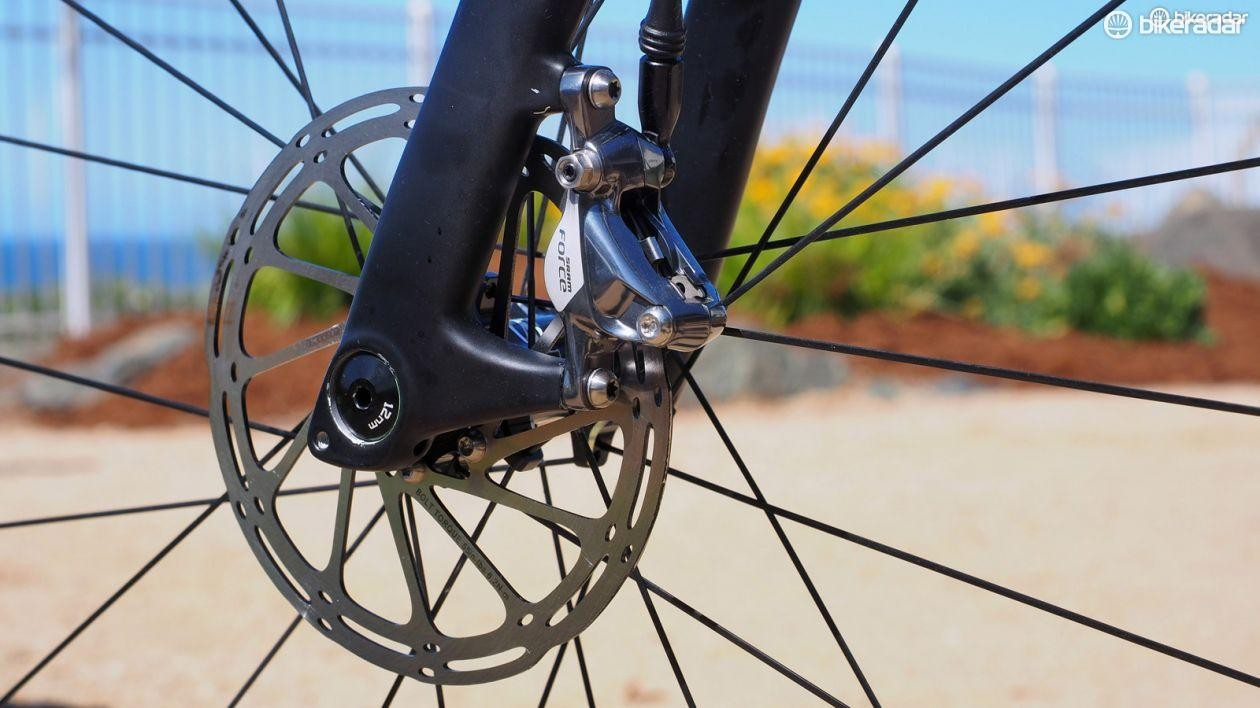 Disc brakes only went into production in 1901. Newfangled nonsense! [shakes fist]