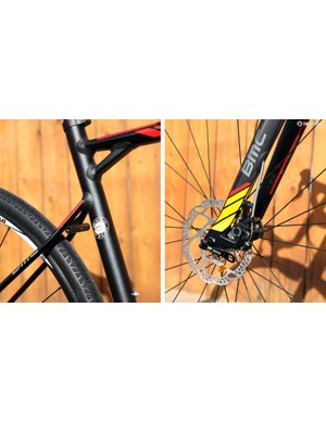 Disc brakes can afford designers more flexibility relative to rim brakes