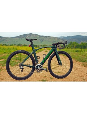 It's still early days for road discs, and no disc-equipped bike has thus far even come close to looking as sleek as the latest rim brake-equipped models such as the new Trek Madone