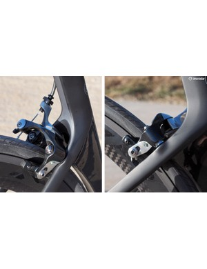 Shimano's latest direct-mount rim brakes aren't exactly helping the disc brake movement. They're awfully good as is