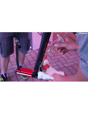 Bleeding hydraulic disc brakes can be a daunting process for roadies who don't also have a mountain bike background