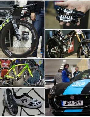 This year's iceBike* delivered a bumper feast of bike gear