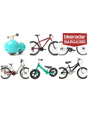 Nine kids bikes for Christmas at bargain prices