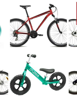 Nine kids bikes for Christmas at bargain prices