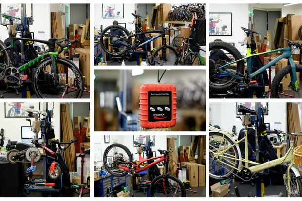 Quiz: Can you guess the weight of these bikes?