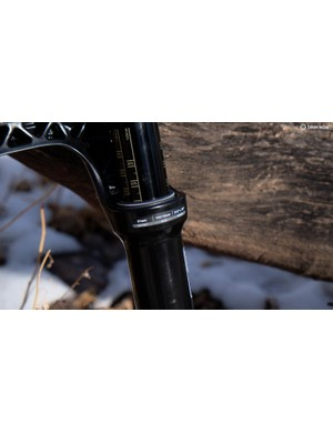 Our Yari is a 29er fork with 110mm front axle spacing