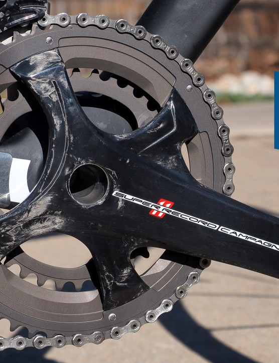 How much do I love Campagnolo Super Record? Let me count the ways