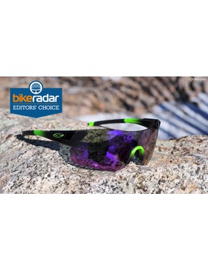 I wore these Smith Pivlock Arena Max sunglasses on nearly every ride this year
