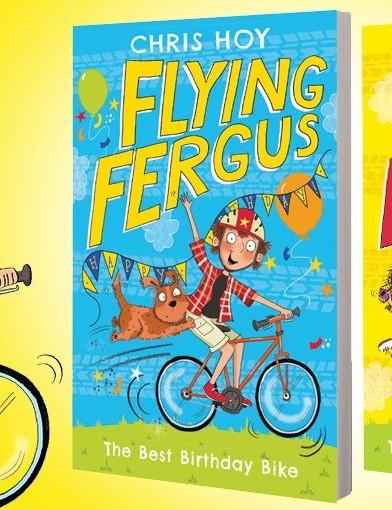 The new books were written with children's author Joanna Nadin
