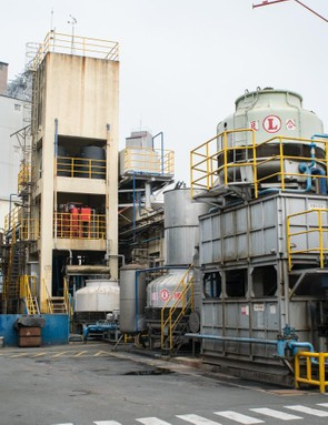 Inside Kenda's Taiwanese factory complex