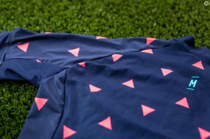 MAAP uses a variety of fabrics in the Arrows Jersey