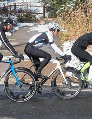 With a good pair of bib tights you can ride through any winter