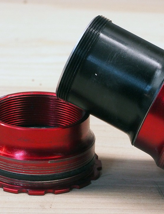 One of T47's biggest obstacles may be that good solutions for creaky press-fit frames already exist. By threading the cups to each other, even persistently noisy frames can quiet down nicely