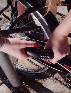 The Dropbyke bikes can be locked up anywhere in the city, and don't require an expensive docking station