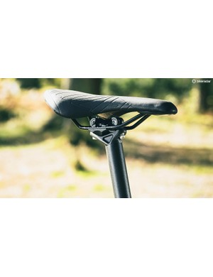 The Specialized saddle is, however, a quality piece