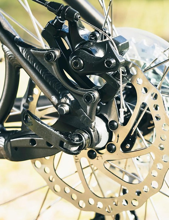 Cable-actuated disc brakes require regular readjustment