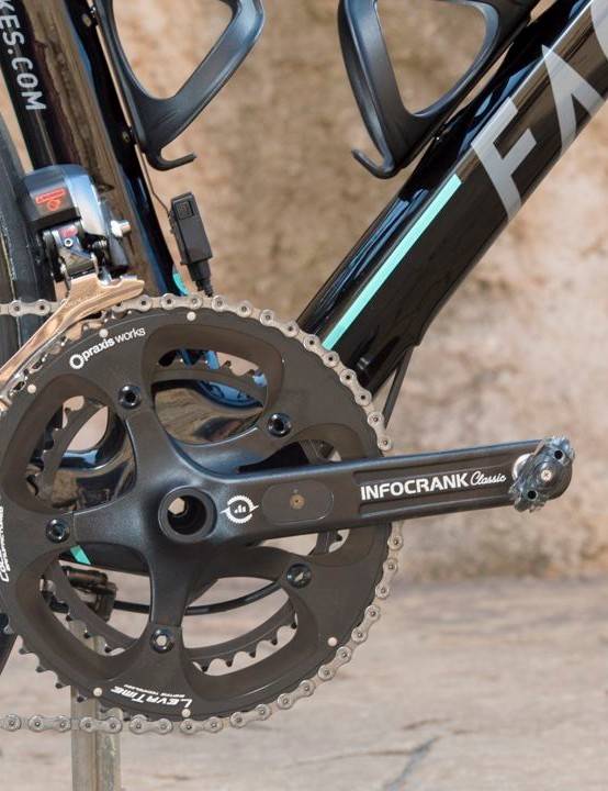 One Pro Cycling have picked InfoCranks as their power meter of choice
