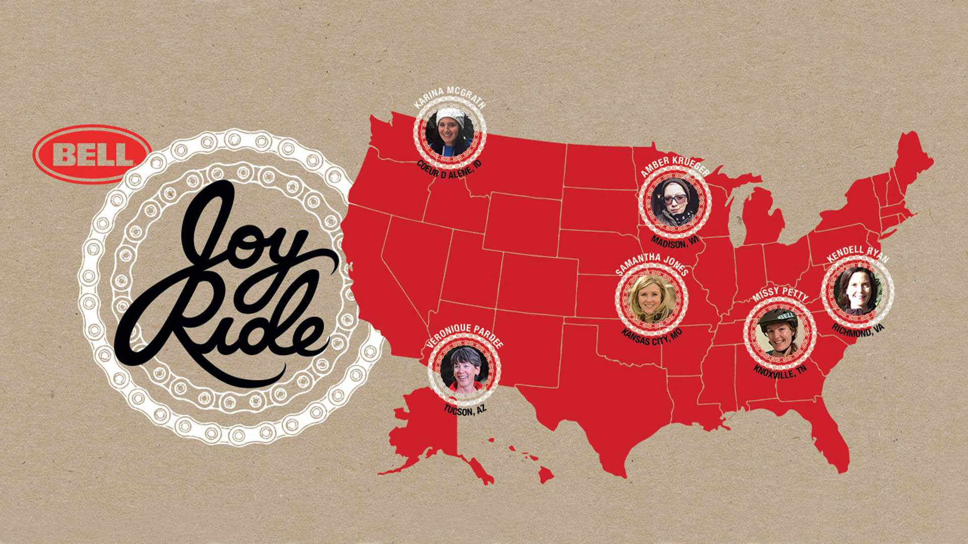 The Bell Joy Ride initiative now has six ambassadors, who'll be running women's mountain bike rides across the US