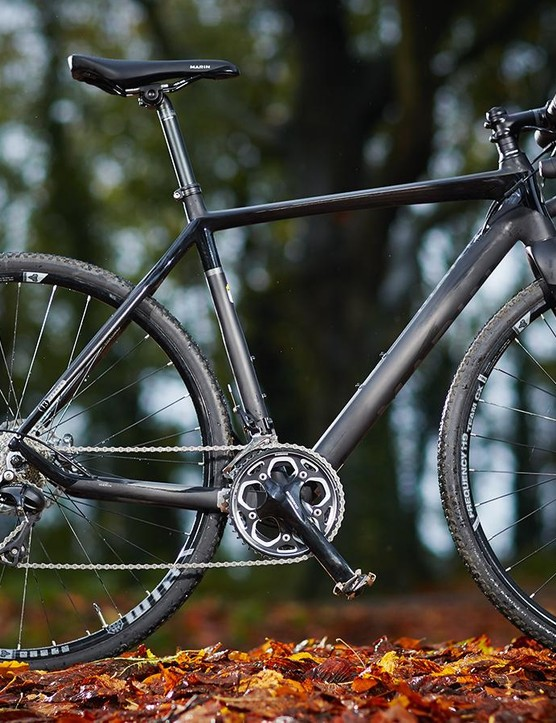 Marin Cortina T3 CX: good on-road and not-too-bumpy gravel, but not quite as impressive over more challenging off-road conditions