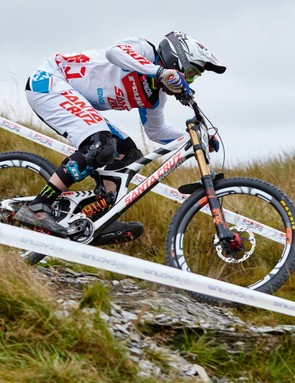 The veterans of DH take part in a race of legends! Photo - Peaty