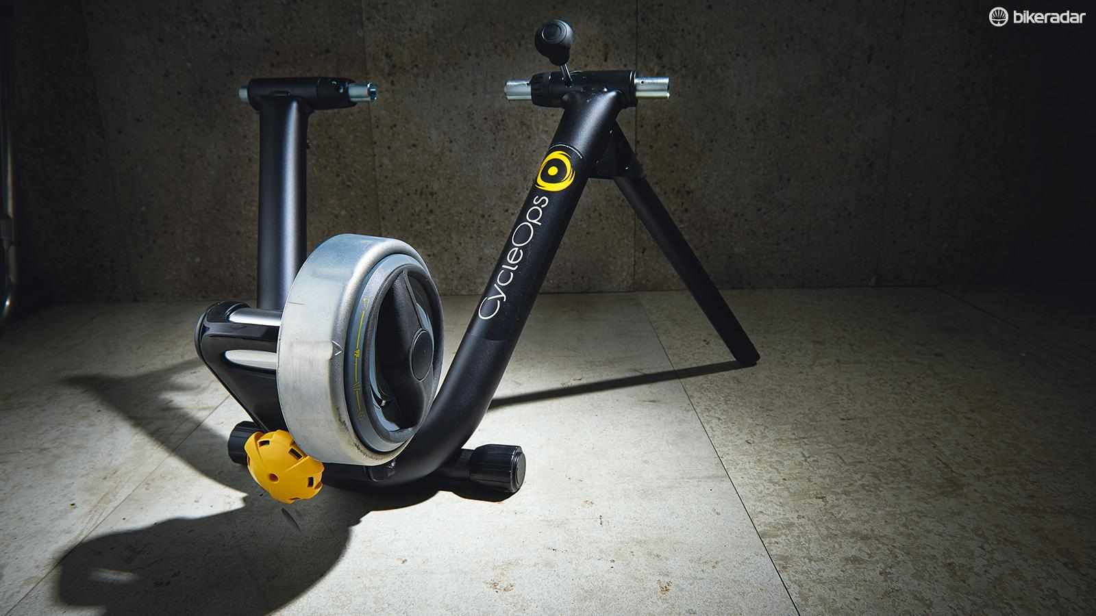 The CycleOps Classic SuperMagneto is a fairly inexpensive and very decent trainer