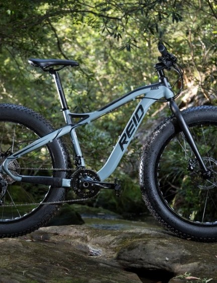 The Ares is Reid's first attempt at a fat bike, and for the money it's pretty tough to beat
